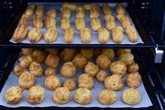 Choux pentru profiterol • eCuisine Brownies, Sausage, Good Food, Food And Drink, Potatoes, Meat, Vegetables, Cooking, Cakes