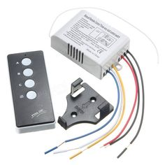 220V Wireless ON/OFF 3 Way Lamp Light Remote Control Switch Receiver Transmitter Sale - Banggood.com