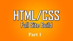Have never you think that how to build website with HTML and CSS, and you want to learn HTML and CSS for beginners, but you see that it is too hard or just did not have time. So this video tutorial will give your all the knowledge you need to master HTML and CSS easily and quickly, especially for beginners learning HTML and CSS.