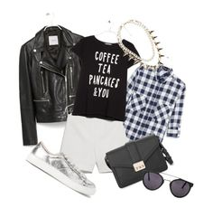 """""""grunge"""" by molnijax ❤ liked on Polyvore featuring мода и MANGO"""