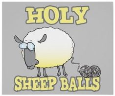 sheep yarn balls meme