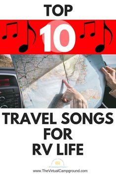 Top 10 best travel songs for RV life. Make your next road trip more fun with this playlist of road trip songs! Travel Hack, Travel Advice, Travel Tips, Time Travel, Roadtrip Playlist, Best Travel Songs, Road Trip Songs, Road Trips, Top Ten Songs
