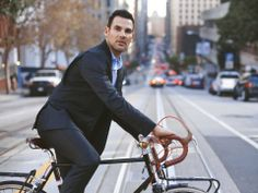 This awesome suit is comfortable enough for biking to work.