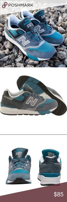 New Balance 597 Classics ML597AAD Shoes Size 10 *PLEASE READ ENTIRE DESCRIPTION AND VIEW ALL PICTURES BEFORE PLACING YOUR BID. THANK YOU.   *100% AUTHENTIC AND SATISFACTION GUARANTEED! NO FAKES! NO VARIANTS!   *PET AND SMOKE-FREE HOUSE!  *SERIOUS BUYERS ONLY PLEASE!   *MESSAGE ME ANY QUESTIONS YOU MAY HAVE.   *SAVE ME AS A FAVORITE SELLER!!! CHECK MY OTHER LISTINGS! New Balance Shoes Sneakers