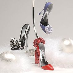 Shopping at Femail Creations - Sex and the City Shoe Ornaments