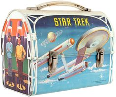 Star Trek domed lunch box