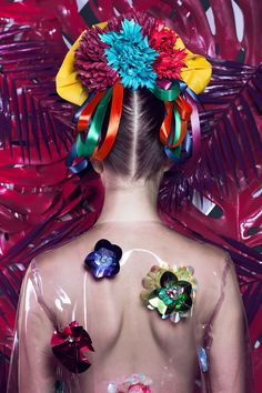 La Mexicana For Flesh Magazine: A Photo Series Inspired By Frida Kahlo  #art #fridakahlo #lamexicana #mexico #painting #photography #thenobodyphotography