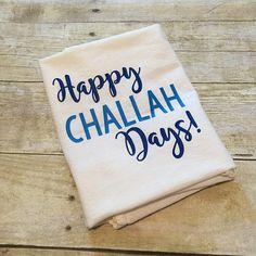 Happy Challah Days  Chanukah Towel  Hanukkah Towel  Hanukah