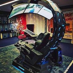 Best Gaming Chairs 2019 Would you game here ? Gaming Pc Build, Gaming Room Setup, Pc Setup, Gaming Chair, Gamer Setup, Xbox, Playstation, Computer Desk Setup, Gaming Computer