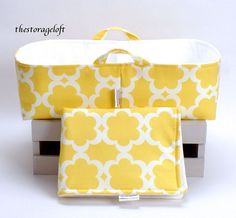 NEW Changing Pad and XL Long Diaper Caddy  by TheStorageLoft, $70.00