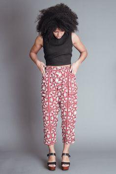 f5174c9f01b Altar Red Silk Fan Pants. Ethical ClothingEthical Fashion BrandsMade  ClothingFair Trade ...