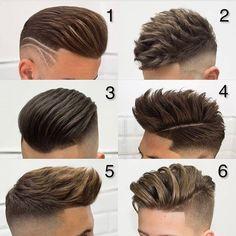 "7,310 Me gusta, 72 comentarios - Haircut & Hairstyle For Men (@hairstylemens) en Instagram: ""@hairstylemens Which one your favorite ? Cc @javi_thebarber_"""