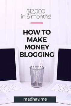 Alright do you want to know how to make money from blogging? http://techcrunch.com