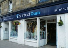Spiritual Oasis, Burntisland,  a great shop for a relaxing browse around
