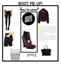 Untitled #5 by keepitclassyyy on Polyvore featuring polyvore fashion style Topshop Hudson ASOS Charles David Fendi clothing