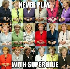 An advice from Angela Merkel