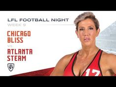 One of the oldest rivalries in LFL history, takes center-stage on LFL Football Night, as the Tamika Robinson led Chicago Bliss battle Dakota Hughes and the A. Lingerie Football, Legends Football, Bliss, Atlanta, Chicago, Youtube, Google Search, Youtubers, Youtube Movies