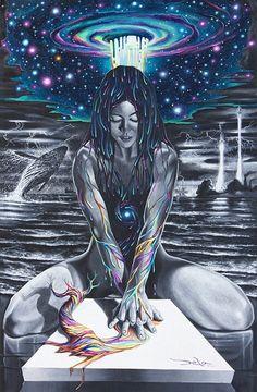 Risultati immagini per psychedelic universe