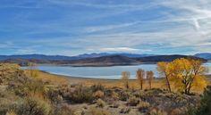 A breathtaking view of Topaz Lake Park in Gardnerville, Nevada.