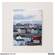 Shop Bonavista Jigsaw Puzzle created by Zinvolle. Newfoundland Canada, Postcard Invitation, Make Your Own Puzzle, Custom Gift Boxes, Chipboard, Big Picture, High Quality Images, Your Design, Jigsaw Puzzles