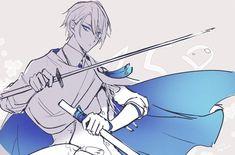 Old Anime, Anime Guys, Anime Art, Character Concept, Character Design, Anime Prince, Samurai Swords, Amon, Handsome Anime