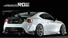 Toyota 86 tuned by Original Runduce YOKOHAMA WHEEL   Brand   ADVAN Racing RG3 for Japanese Cars