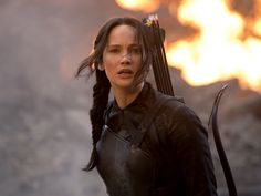 We salute you. You're about 75% pure Katniss.