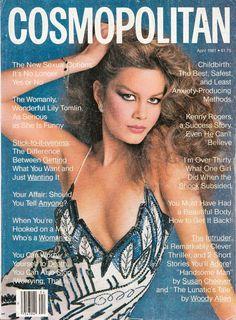 Cosmopolitan magazine, APRIL 1981 Model: Lisa Cummins Photographer: Francesco Scavullo