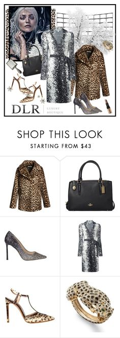 """DLRBOUTIQUE.COM"" by carola-corana ❤ liked on Polyvore featuring A.L.C., Coach, Jimmy Choo, Diane Von Furstenberg, Casadei, Palm Beach Jewelry, Bobbi Brown Cosmetics, DLRLuxuryBoutique and dlrboutique"