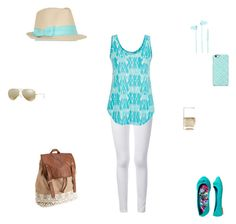"""""""cute in blue"""" by emilyk217 ❤ liked on Polyvore"""