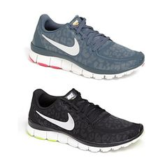 Leopard Print Running Shoes #nike