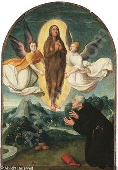 FLEMISH SCHOOL - L'Ascension de Sainte Marie l'Egyptienne