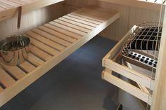 sauna bench - Google Search
