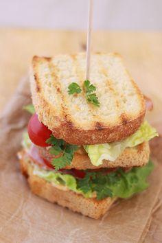 BLT Bacon, lettuce, tomato