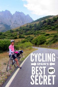 Peaceful roads make for fabulous cycling in the Picos de Euopa of Spain