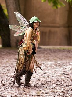 I don't think I've ever seen a #faerie #cosplay so #amazing