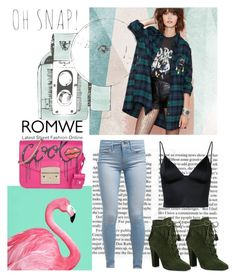 """Romwe contest"" by tdctje on Polyvore featuring Sandberg Furniture, Levi's, T By Alexander Wang, Giuseppe Zanotti, Furla and Chanel"