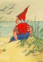 Piggelmee kijkt uit over zee