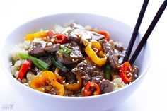 Easy Pepper Steak This Easy Pepper Steak recipe can be ready to go in 30 minutes, and is full of the great Chinese pepper steak flavors we all love!