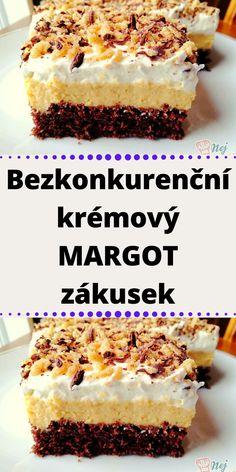 Sweet Desserts, Sweet Recipes, Cake Recipes, Slovak Recipes, Desert Recipes, Cheesecakes, No Bake Cake, Oreo, Sweet Tooth
