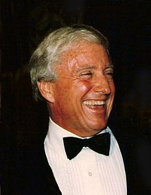 The Merv Griffin Show is an American television talk show, starring Merv Griffin. The series ran from October 1, 1962 to March 29, 1963 on NBC, September 20, 1965 to September 26, 1969 in first-run syndication, from August 18, 1969 to February 11, 1972 at 11:30 PM ET weeknights on CBS and again in first-run syndication from February 14, 1972 to September 5, 1986.