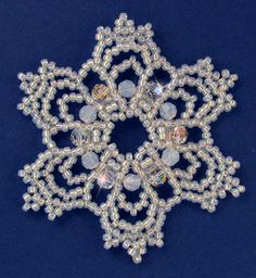 Snowflake #86 Ornament Pattern at Sova-Enterprises.com