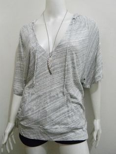 wengpot Nwot imptd Modelist stretchy hooded shirt fits XL voluptuous frame