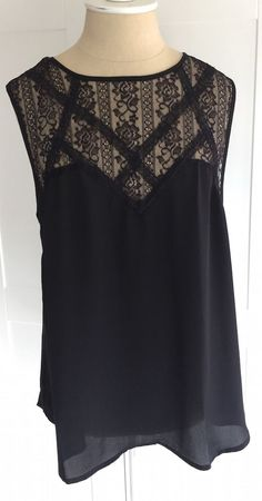 I know I said no lace, but there is something about this top that I love! Fun2Fun Torrance Lace Blouse