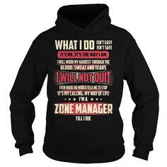 (Tshirt Choice) Zone Manager Job Title T-Shirt [Tshirt Best Selling] Hoodies, Tee Shirts