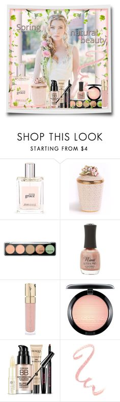 """Pretty Pastel Makeup"" by easy-dressing ❤ liked on Polyvore featuring beauty, Disney, philosophy, Jay Strongwater, MAKE UP FOR EVER, Charlotte Russe, Smith & Cult, MAC Cosmetics, polyvoreeditorial and polyvorebeauty"