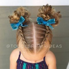 Piggy dutch braids and messy buns! I have a dutch braid AND a messy bun tutorial. Piggy dutch braids and messy buns! I have a dutch braid AND a messy bun tutorial. Easy Toddler Hairstyles, Toddler Braids, Baby Girl Hairstyles, Trendy Hairstyles, Braided Hairstyles, Braids For Toddlers, Hairstyles For Toddlers, Easy Little Girl Hairstyles, Hairstyles Pictures