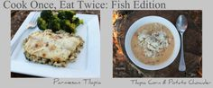 Fish Dishes: Cook Once, Eat twice