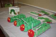 My Eric Carle Art Camp by Kirsti Koo -- Full of Caterpillar and Butterfly art project ideas for The Very Hungry Caterpillar Day (March 20)