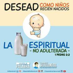 #ViveLaPalabra — 1 Pedro 2:2